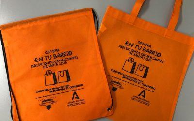 Campaña de promoción para incentivar el consumo «COMPRA EN TU BARRIO» – Santa Justa (Sevilla)